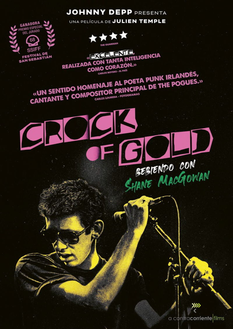 CROCK OF GOLD: BEBIENDO CON SHANE MACGOWAN (DVD)