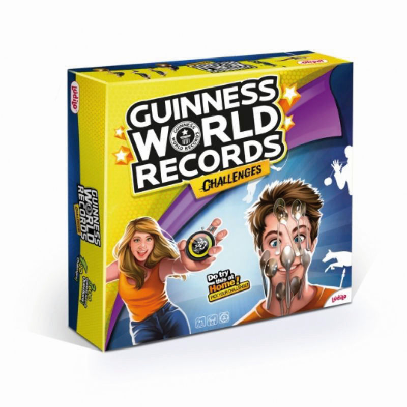 GUINESS WORLD RECORDS R: 80351
