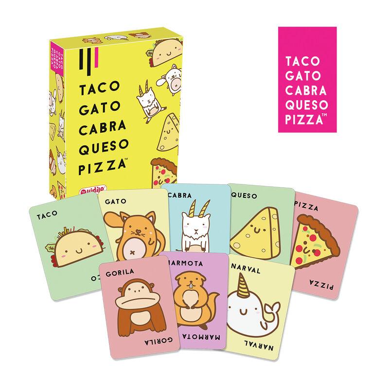 taco, gato, cabra, queso, pizza -