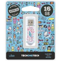 BE ORIGINAL * MEMORIA USB 16GB 2.0 MUSIC DREAM R: TEC4003-16