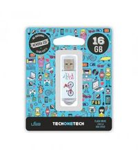 BE ORIGINAL * MEMORIA USB 16GB 2.0 BE BIKE R: TEC4005-16