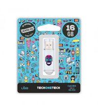 BE ORIGINAL * MEMORIA USB 16GB 2.0 CALAVERA MAYA R: TEC4008-16