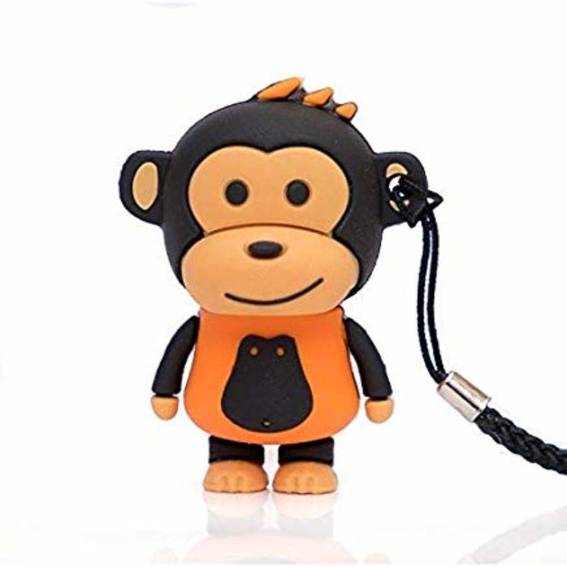 MEMORIA USB 16GB MAKAKO MONO NARANJA R: TEC5146-16