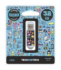 BE ORIGINAL * MEMORIA USB 32GB 2.0 CANDY POP R: TEC4001-32