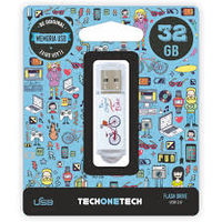 BE ORIGINAL * MEMORIA USB 32GB 2.0 BE BIKE R: TEC4005-32