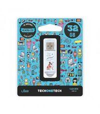 BE ORIGINAL * MEMORIA USB 32GB 2.0 QUE VIDA MAS PERRA R: TEC4009-32