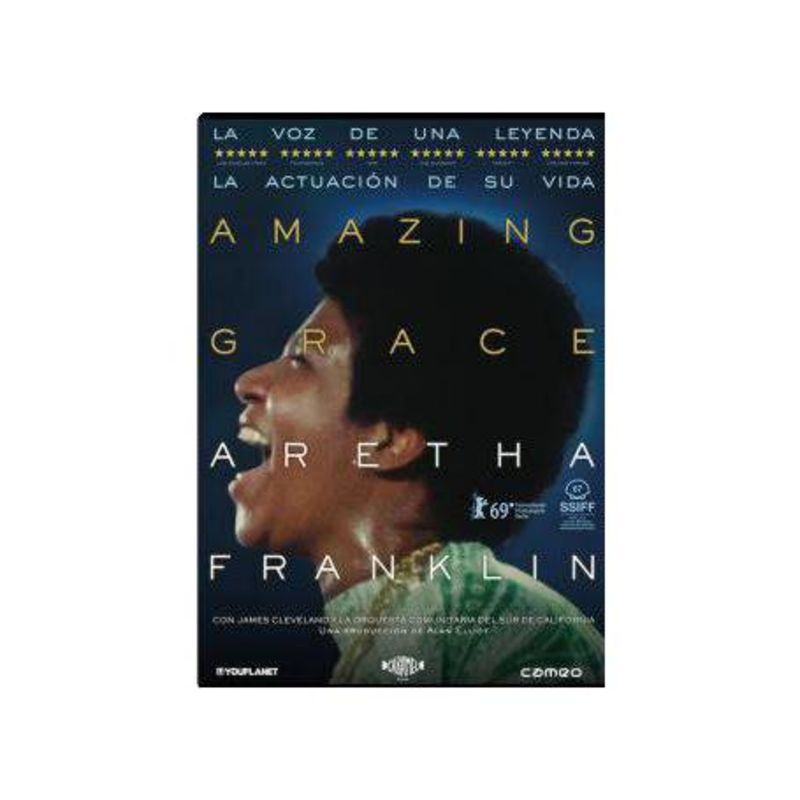 AMAZING GRAZE (DVD) * ARETHA FRANKLIN