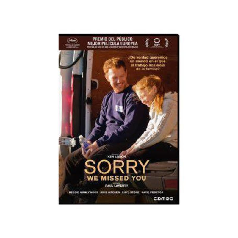 SORRY WE MISSED YOU (DVD) * DEBBIE HONEYWOOD