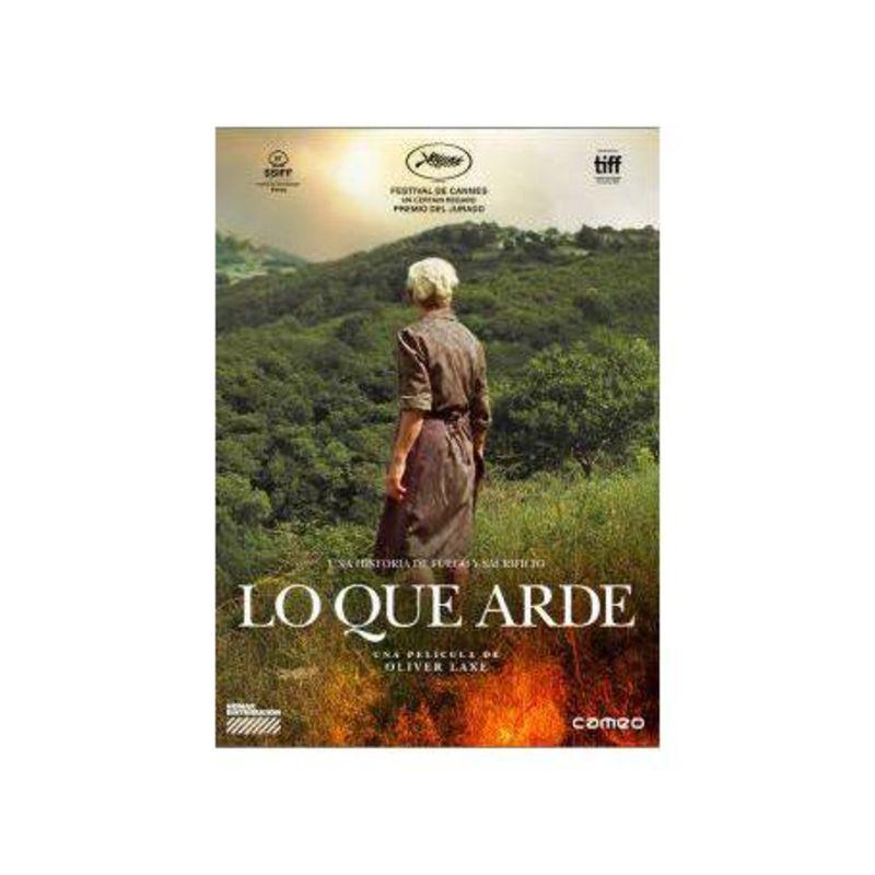 LO QUE ARDE (DVD) * AMADOR ARIAS