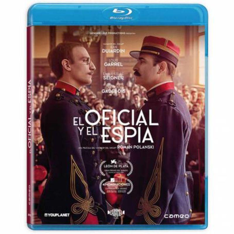 EL OFICIAL Y EL ESPIA (BLU-RAY) (DVD) * JEAN DUJARDIN