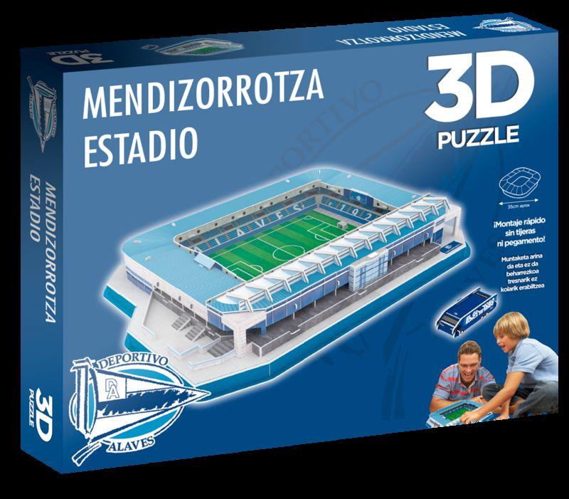alaves * puzzle estadio 3d mendizorroza
