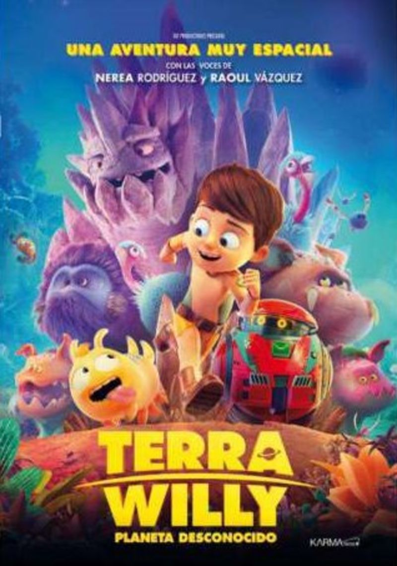 TERRA WILLY, PLANETA DESCONOCIDO (DVD)