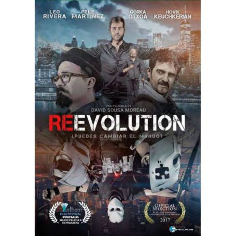 REEVOLUTION (DVD) * LEANDRO RIVERA