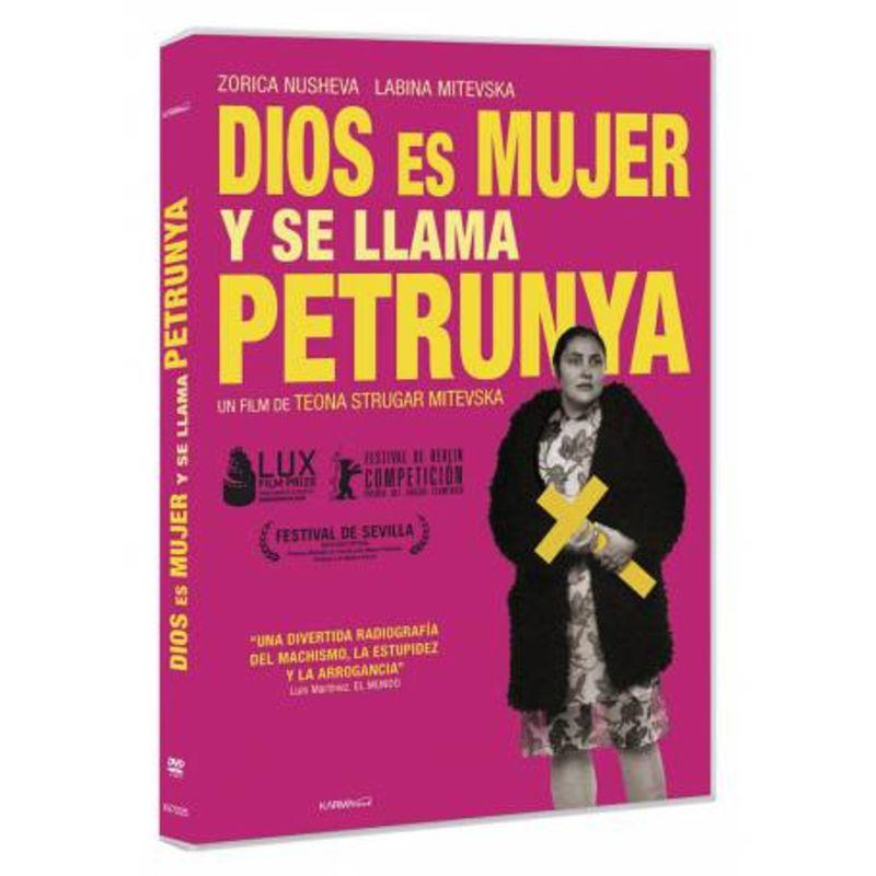DIOS ES MUJER Y SE LLAMA PETRUNYA (DVD) * ZORICA NUSHEVA, LABINA MIT