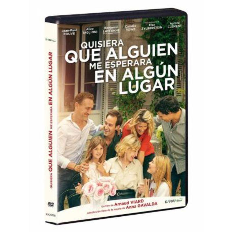 QUISIERA QUE ALGUIEN ME ESPERARA EN ALGUN LUGAR (DVD)