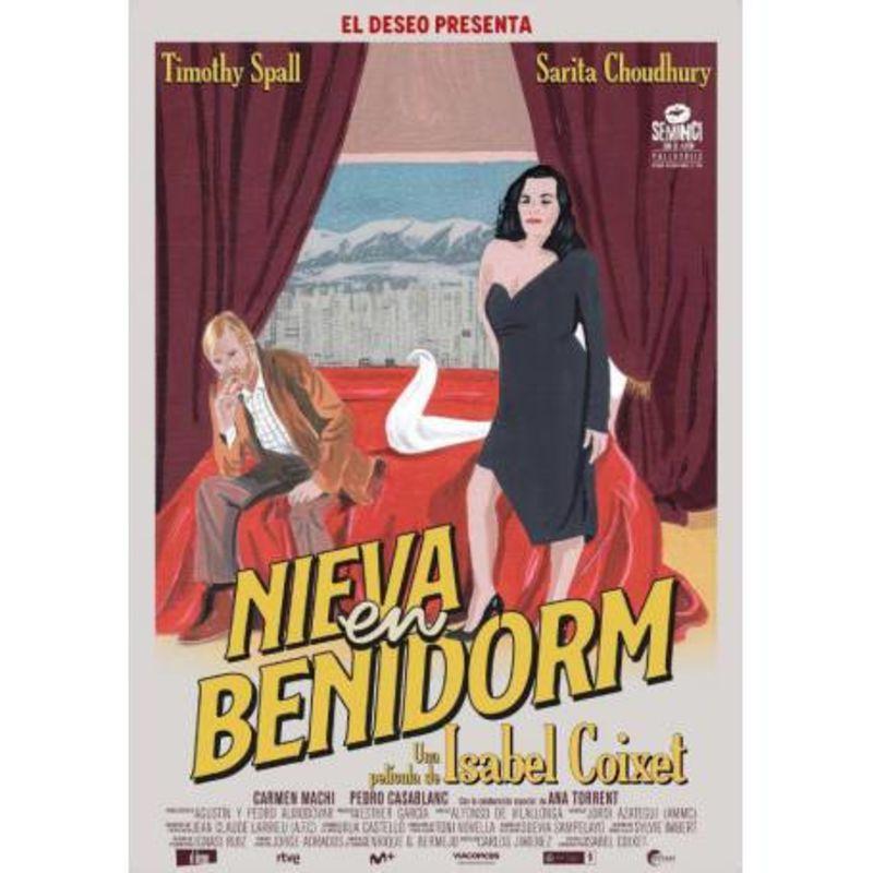 NIEVA EN BENIDORM (DVD) * TIMOTHY SPALL