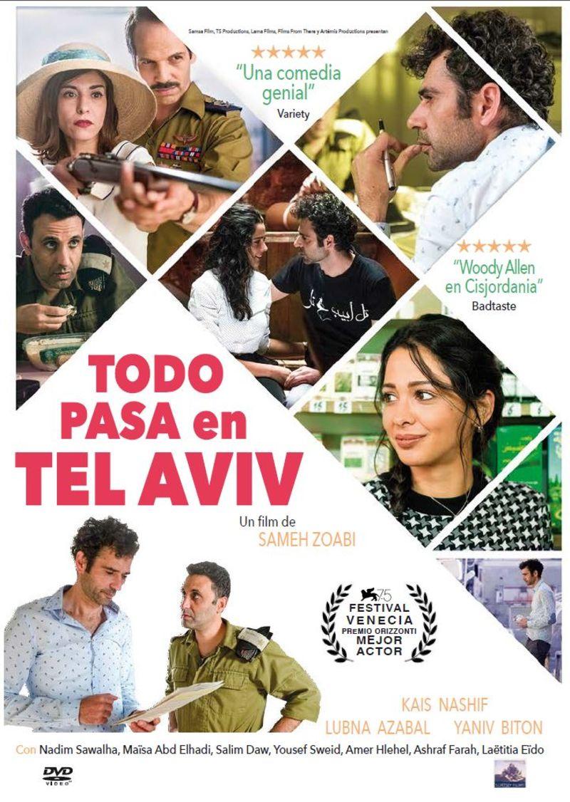 TODO PASA EN TEL AVIV (DVD)