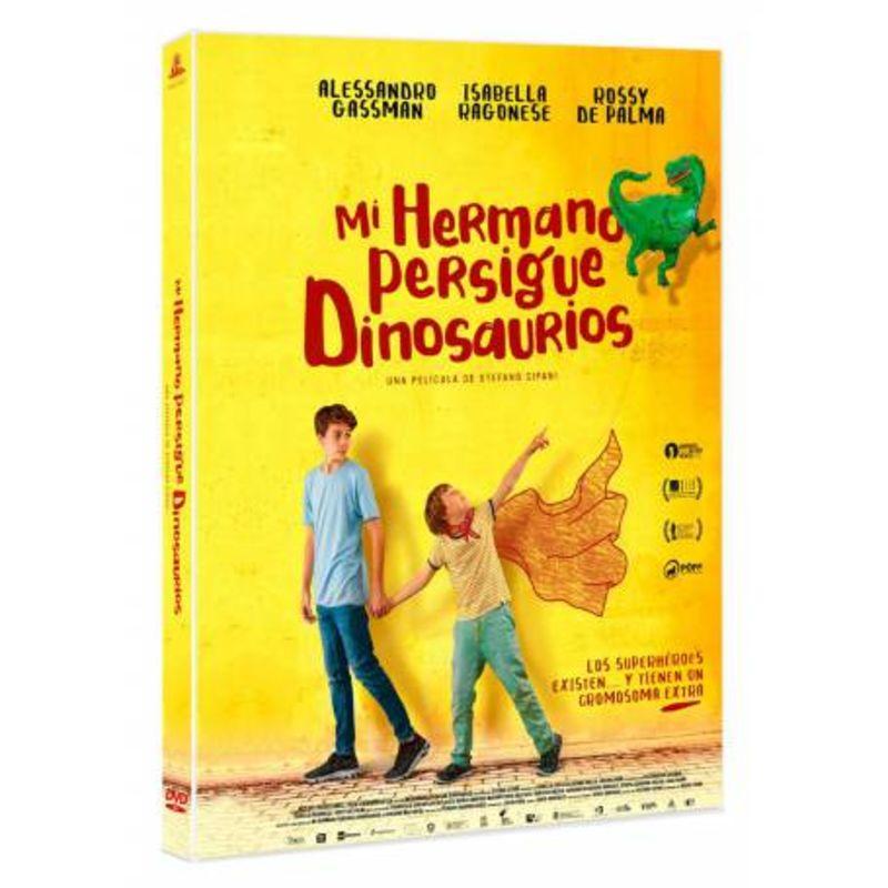 MI HERMANO PERSIGUE DINOSAURIOS (DVD)