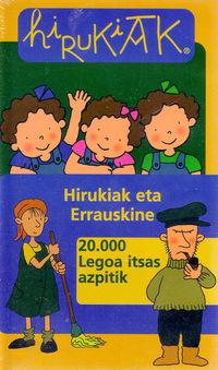 (BIDEOA) HIRUKIAK 3 - ERRAUSKINE / 20000 LEGOA ITSAS AZPITIK