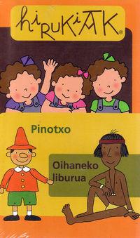 (BIDEOA) HIRUKIAK 4 - PINOTXO / OIHANEKO LIBURUA