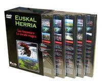 (PACK 5 DVD) EUSKAL HERRIA - MIRADA MAGICA / LAU HAIZEETARA