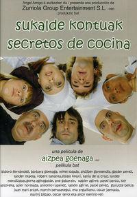 SECRETOS DE COCINA (SUKALDE KONTUAK) (DVD) * ISIDORO FERNANDEZ