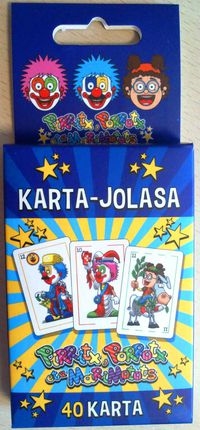 Karta Jolasa - Pirritx Porrotx Eta Marimotots