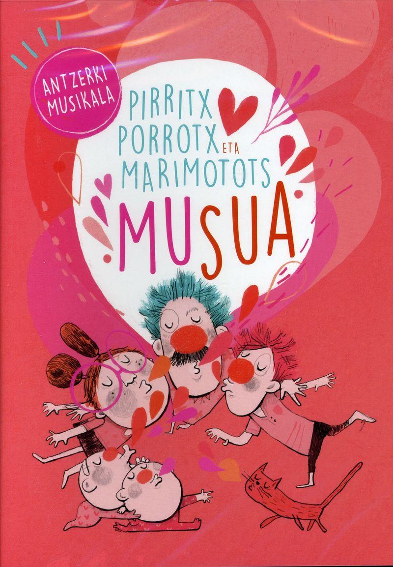 (dvd) Musua - Pirritx, Porrotx Eta Marimotots - Pirritx Porrotx Eta Marimotots