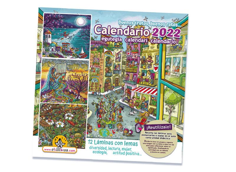 CALENDARIO 2020 - BUENOS TRATOS, BUENOS RATOS