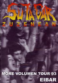 (DVD) ZUZENEAN MORE VOLUMEN TOUR 93 EIBAR