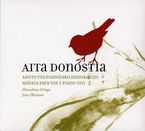 AITA DONOSTIA: MUSICA PARA VOZ Y PIANO VOL. III * ORTEGA / OKIÑEÑA