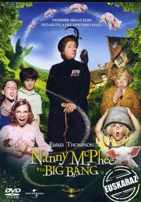 (dvd)  Nanny Mcphee Eta Big Bang-a - Batzuk