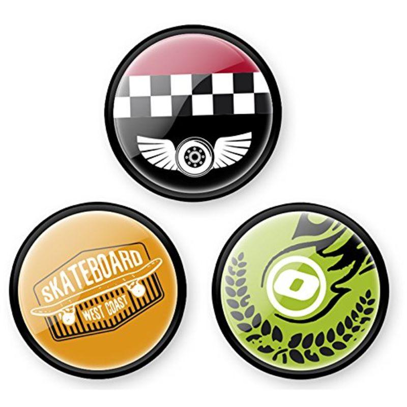 Paq. Chapas-Pins Roller Skate R: 9106 -