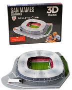 Athletic * San Mames Maketa Puzzle 3d R: 81014 -