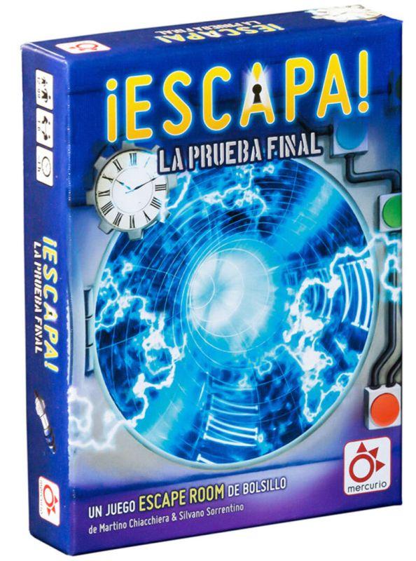 ESCAPA, LA PRUEBA FINAL R: DV0001
