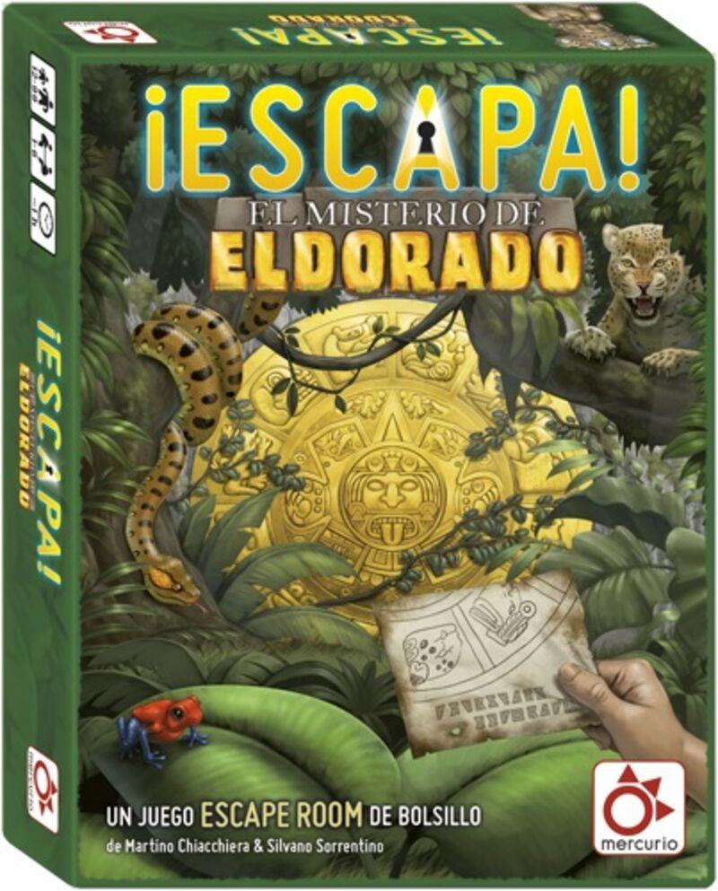 Escapa - El Misterio De El Dorado R: Dv0004 -