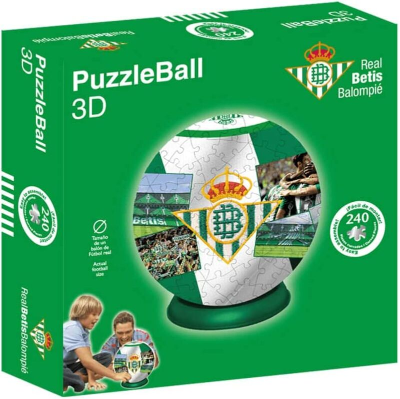 REAL BETIS * PUZZLEBALL 8, 4""
