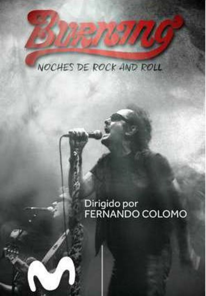 BURNING, NOCHES DE ROCK & ROLL (DVD)