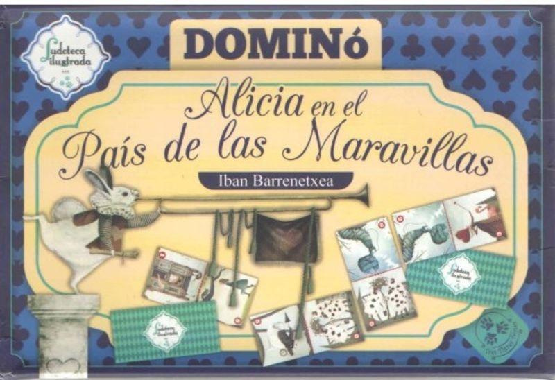 WM3 * DOMINO ALICIA EN EL PAIS DE LAS MARAVILLAS -LUDOTECA ILUSTRADA