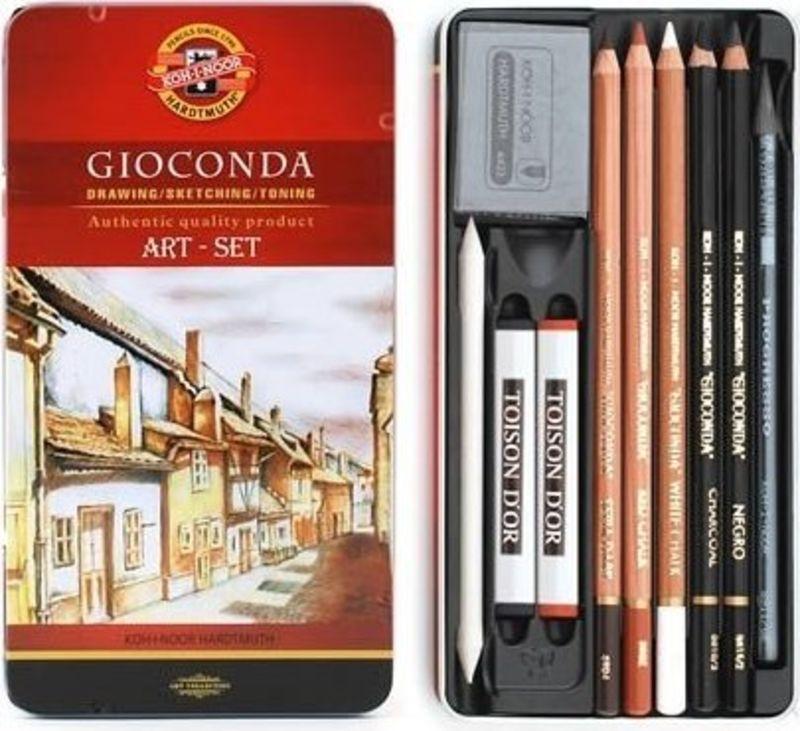 C / METAL GIOCONDA ART 10 PIEZAS R: 8890