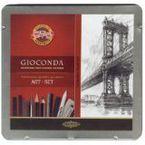 C / Metal Gioconda Art 39 Piezas R: 8898 -