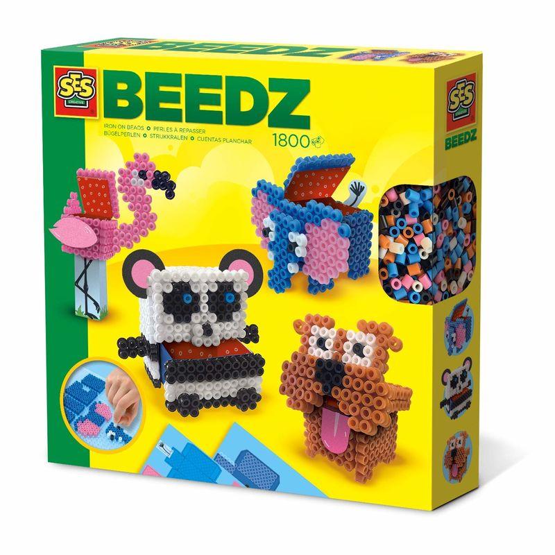 BEEDZ * PERLAS PARA PLANCHAR ANIMALES 3D