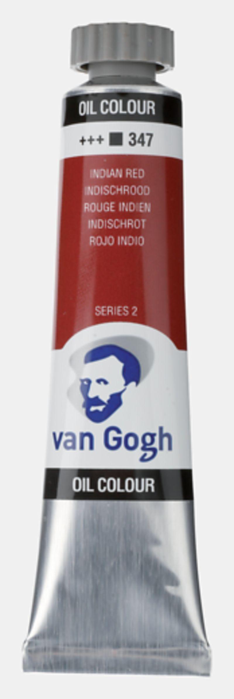 C / 3 Oleo Gogh T.7 Rojo Indio -