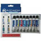 CAJA ACRILICO EXPRESION 9021708M 8 12ML COLORES ACRILICO ART CREAT