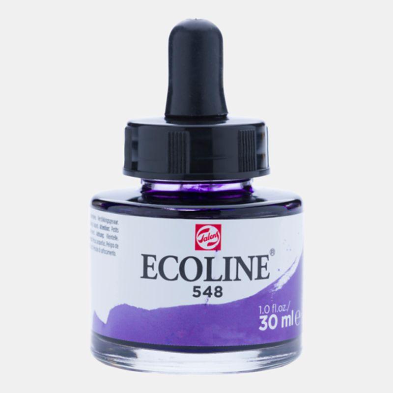 Frasco Ecoline 11255480 Violeta Azulado 30ml Talens 8259 -