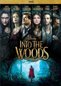 Into The Woods (dvd) * Meryl Streep / Emily Blunt - Rob Marshall