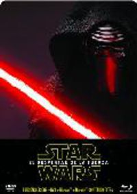 STAR WARS EPISODIO VII: EL DESPERTAR DE LA FUERZA (3BLURAY) (STEELBO