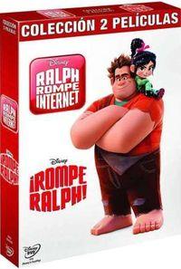 ROMPE RALPH + RALPH ROMPE INTERNET (2 DVD)