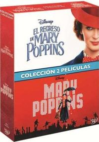 MARY POPPINS + EL REGRESO DE MARY POPPINS (2 DVD) * EMILY BLUNY, LIN-