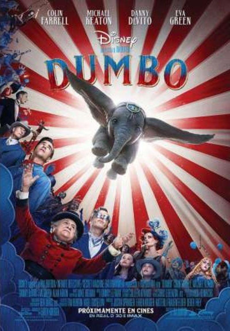 Dumbo (2019) (dvd) * Colin Farrell, Michael Keaton - Tim Burton